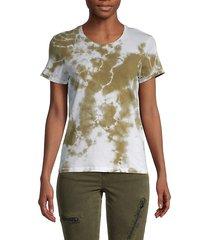 tie-dye cotton t-shirt