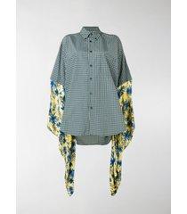 balenciaga kimono shirt