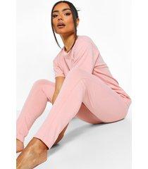 basic mix & match pyjama leggings, blush