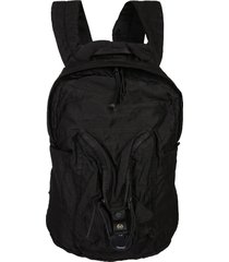 backpack with iconic lens c.p. company