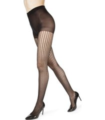 women's roman swirl fashion sheer envelope tights
