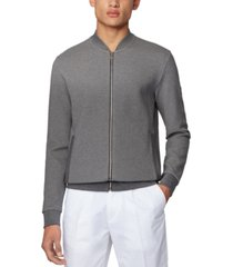 boss men's skiles grey sweatshirt