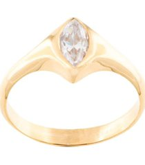 niomo sinai almond-shaped ring - gold