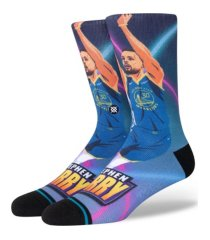 stance men's golden state warriors future star crew socks