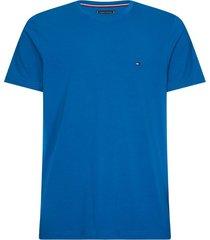 tommy hilfiger t-shirt slim fit blauw