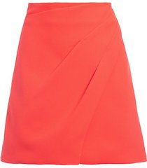 shaylee pleated a-line skirt