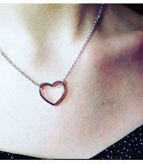 naszyjnik srebro serce