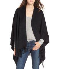 rag & bone cashmere poncho in black at nordstrom