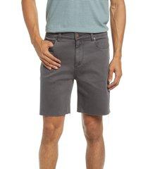 men's marine layer men's dock denim cutoff shorts, size 33 - black