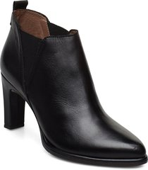 m-4303 shoes boots ankle boots ankle boots with heel svart wonders