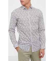 premium by jack & jones jprblablackpool shirt l/s s20 sts skjortor mörk brun