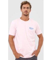 camiseta ellus board rentals rosa