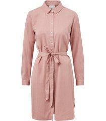 skjortklänning vibista denim belt dress