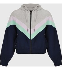 chaqueta blfd paxos multicolor - calce regular