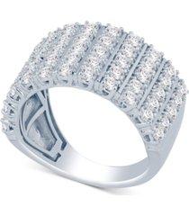 diamond multi-row statement ring (2 ct. t.w.)
