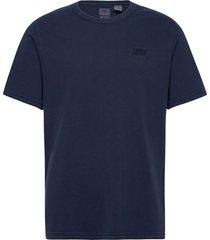authentic crewneck tee garment t-shirts short-sleeved blå levi´s men