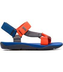 camper match, sandali uomo, arancione/grigio/blu, misura 46 (eu), 18824-045