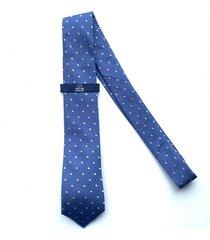 corbata azul oscar de la renta 23az2296-180