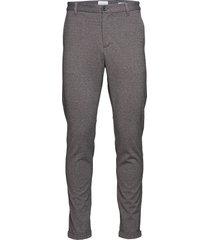 knitted pants normal length casual broek vrijetijdsbroek grijs lindbergh