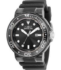 reloj invicta modelo 32330 gris transparente hombre