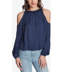 1.state cold-shoulder top
