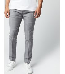hugo men's zennet202 trousers - open grey - xxl/54