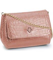 bolsa tiracolo capodarte logo rosa