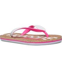 cork flip flop shoes summer shoes flip flops multi/mönstrad superdry