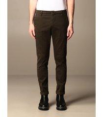 dondup pants gaubert chino dondup trousers in stretch gabardine bottom 17