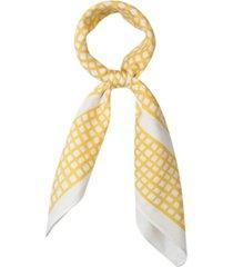 kate spade new york women's asymmetric check bandana scarf