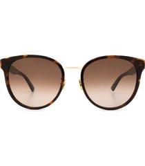 bottega veneta bottega veneta bv1081sk havana sunglasses