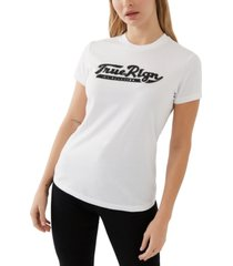 true religion cotton embellished t-shirt