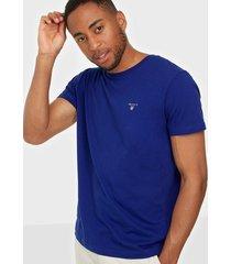 gant the original ss t-shirt t-shirts & linnen blue