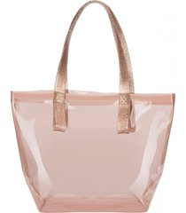 bolso bright bag casual rosa melissa