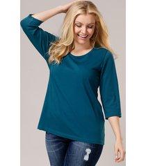 basic shirt janet & joyce donkerblauw