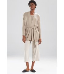 natori osaka belted cardigan top, women's, size l