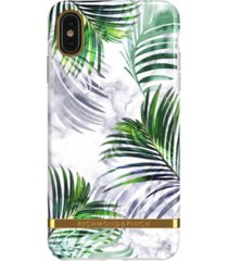 richmond & finch white marble tropics case for iphone xs max