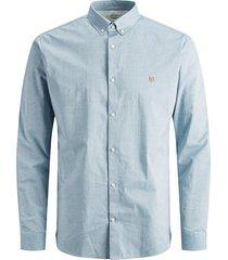 jack & jones overhemd 12167088 cashmere blue - blauw