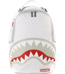 sprayground shark backpack in paris mean & clean