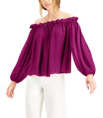 inc off-the-shoulder top, created for macy's