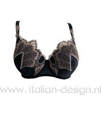 ambra lingerie bh's grand arche push-up bh bruin 0329