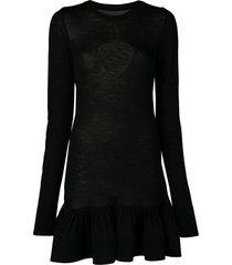 heart cut-out dress