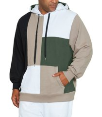 mvp collections by mo vaughn productions men's long sleeve color block hoodie