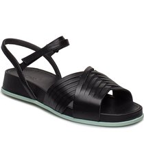 atonika shoes summer shoes flat sandals svart camper
