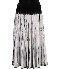 proenza schouler velvet tie dye skirt