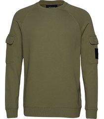 army cr sweat-shirt trui groen peak performance