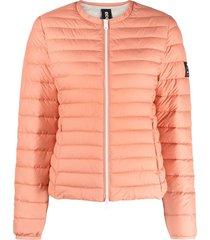 ecoalf padded recycled polyester jacket - orange