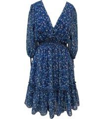 taylor floral-print peasant dress