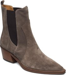 knox shoes boots ankle boots ankle boot - heel beige notabene