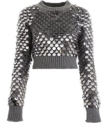 prada pullover with sequins